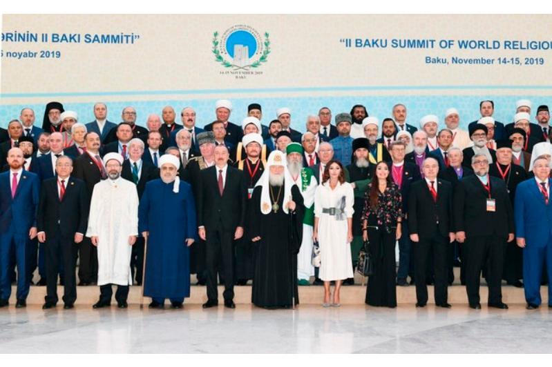 Бакудегі дін лидерлері саммитіне қазақстандық делегация қатысуда