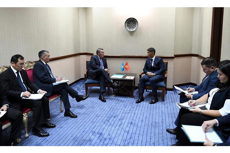 Министры иностранных дел Казахстана и Кыргызстана в Ташкенте «сверили часы»
