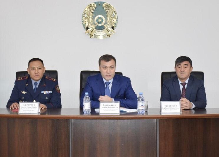 Руководители райотделов полиции должны сотрудничать с гражданским обществом - Арман Оразалиев
