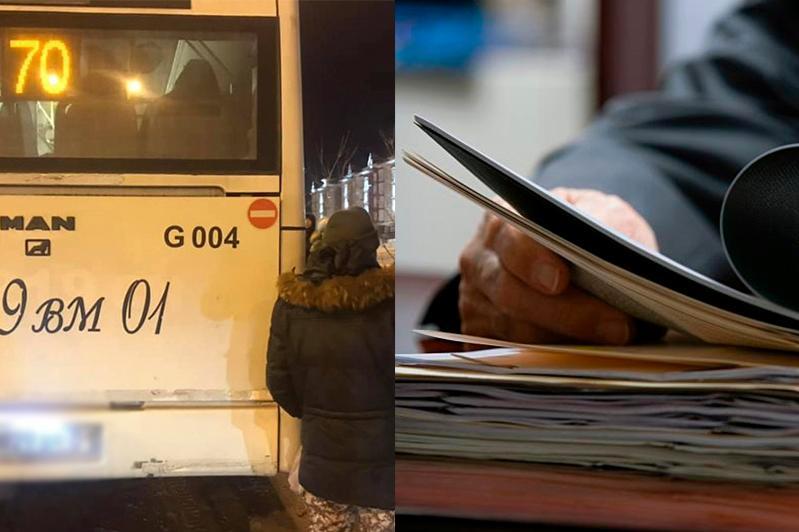 Elordada avtobýs adamdy súırep ketken: Oqıǵaǵa qatysty qyzmettik tergeý bastaldy