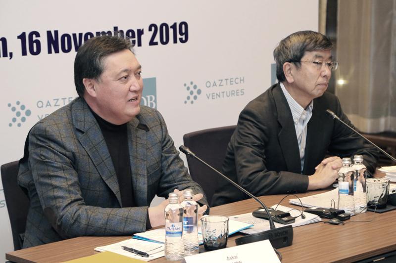 Аскар Мамин принял участие в форсайт-сессии АБР и РК по теме повышения конкурентоспособности Казахстана