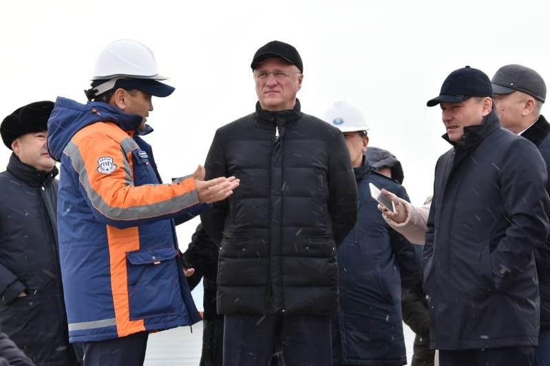 Роман Скляр ознакомился с подготовкой к казахстанско-российскому форуму в Кокшетау
