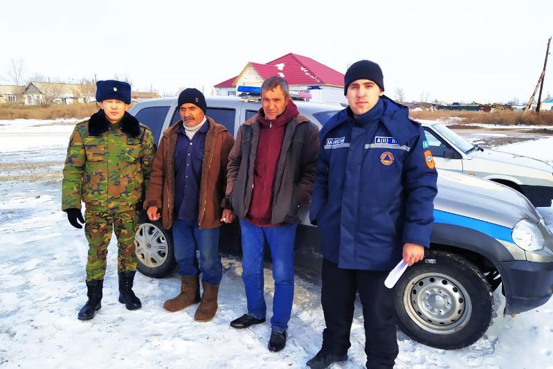 Спасатели нашли потерявшегося в степи гостя Акмолинской области
