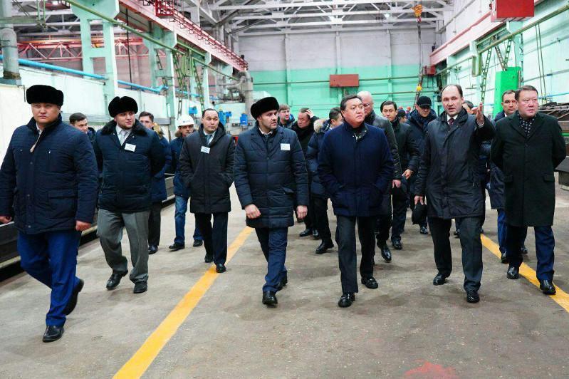 PM makes working visit to N Kazakhstan region