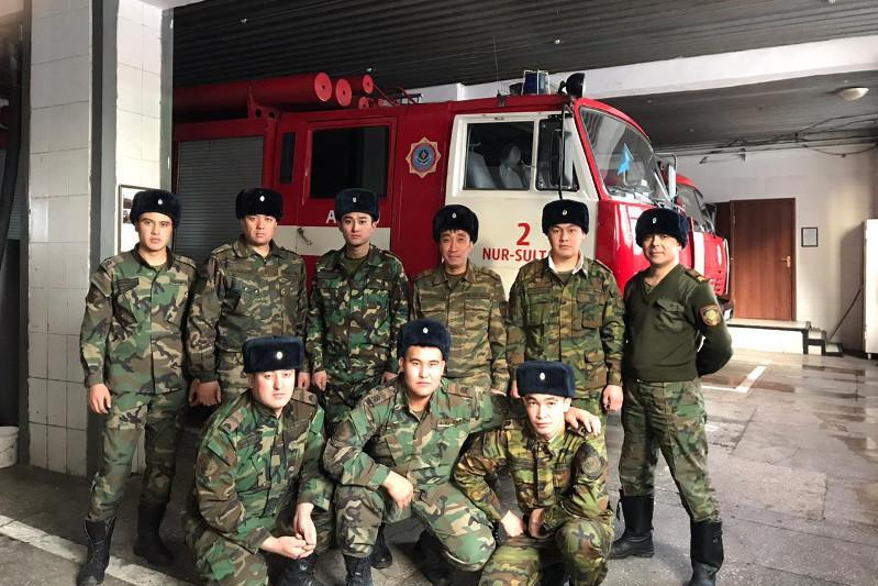 «Пожарная безопасность в каждый дом»: спасатели провели акцию в столице