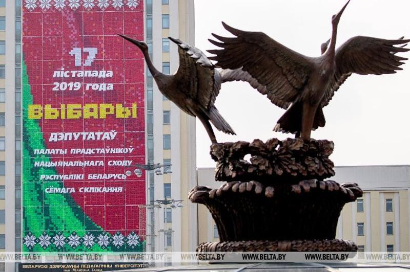 В Беларуси началось основное голосование на выборах в Палату представителей