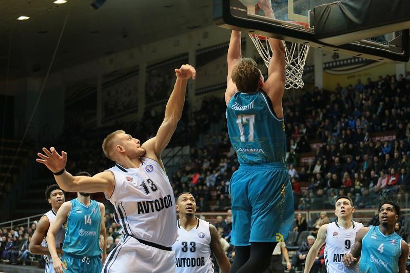 Баскетбольная «Астана» уступила «Автодору»