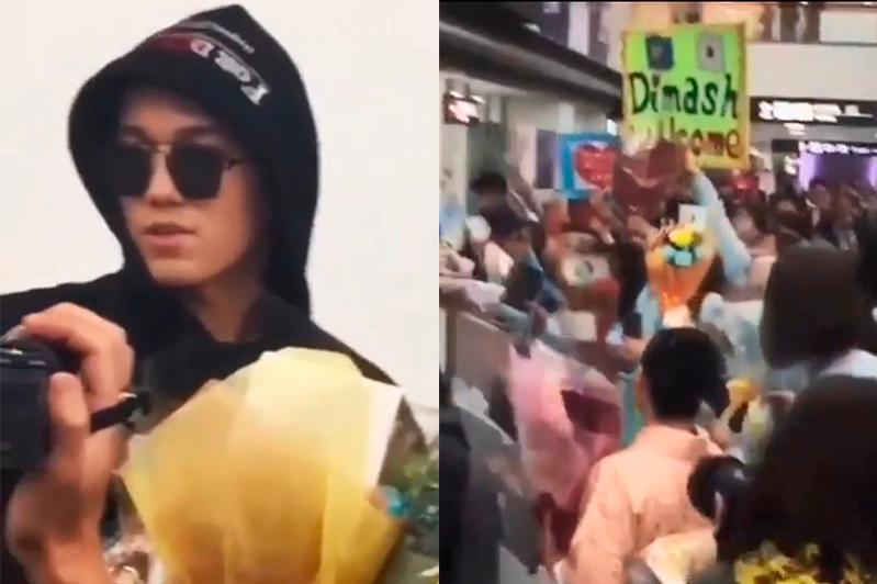 Японские фанаты Димаша устроили ему горячую встречу в аэропорту