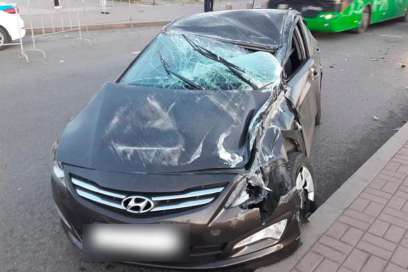 Pedestrian hit and killed by drunk woman in Almaty