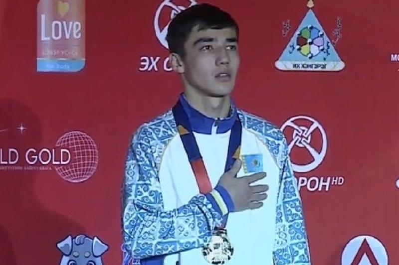 拳击亚青赛:哈萨克斯坦代表团获得6枚金牌