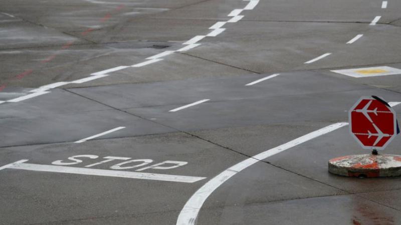 Два самолета столкнулись в аэропорту Франкфурта
