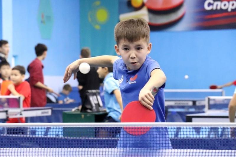 В Алматы состоится турнир по настольному теннису среди кадетов Hopes Week