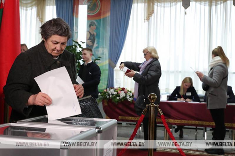 白俄罗斯顺利举行议会下院选举