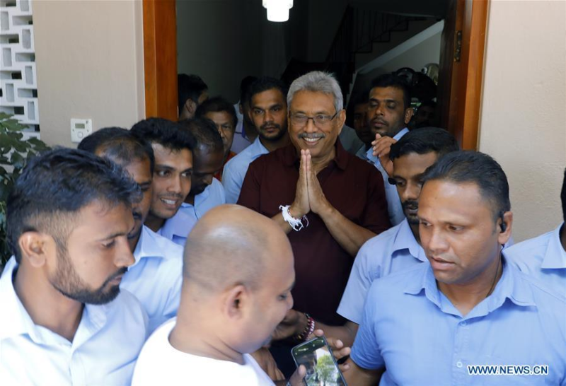Sri Lankan opposition candidate wins presidential polls: elections chief