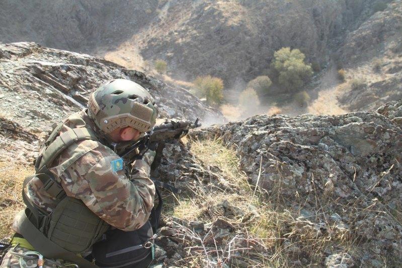 Совместную тренировку горных подразделений армии провели Казахстан и Узбекистан