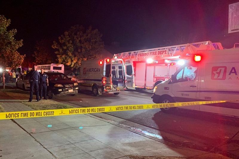 美加州发生枪击案10人中枪4人死