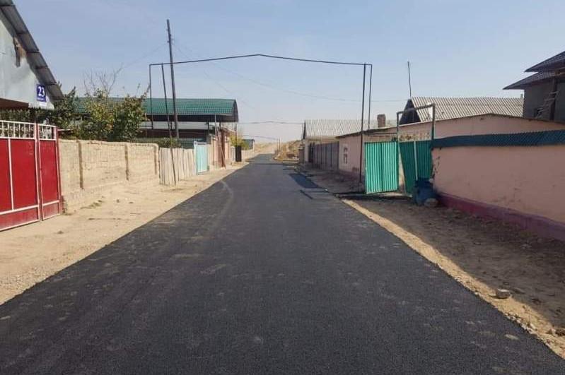 Келес ауданында 72 шақырымға жуық жол жөнделуде