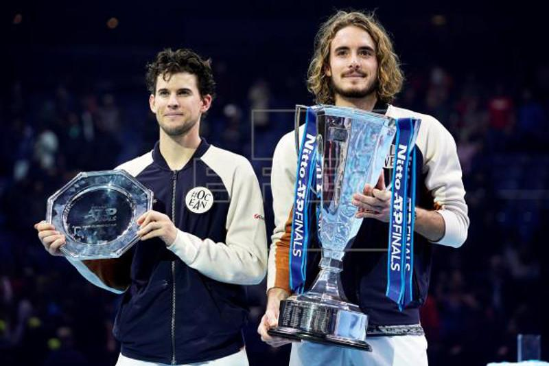 Tsitsipas youngest ATP Finals winner in 18 years