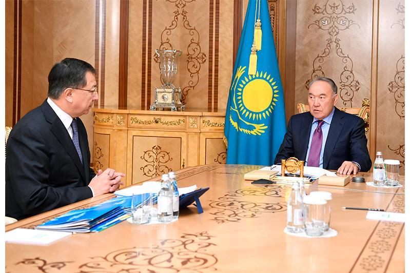 Nazarbayev receives Deputy Chairman of People's Assembly of Kazakhstan