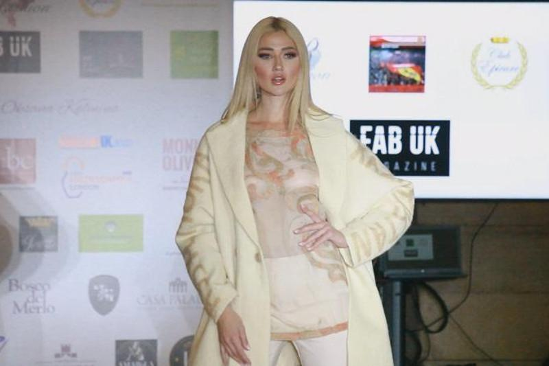 Kazakhstani designer showcases her collection in London