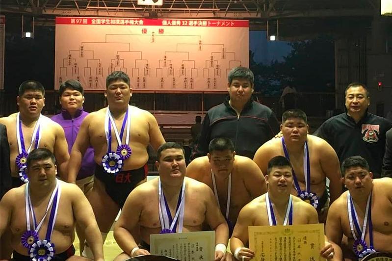 Казахстанский сумоист Ерсин Балтагул стал чемпионом Японии среди молодежи
