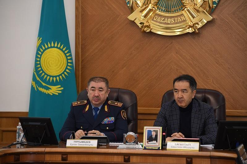 Ерлан Тургумбаев: Весь видеоконтроль Алматы будет интегрирован в полиции