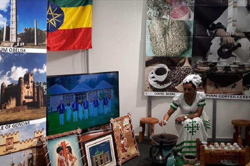 Ethiopian coffee attracts visitors at Ankara expo