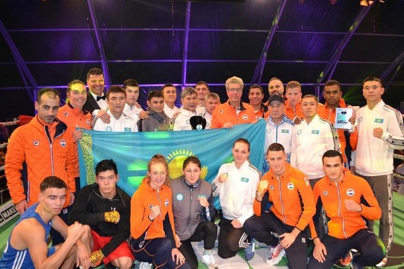 Сборная команда Казахстана по боксу выступила на турнире в Нидерландах