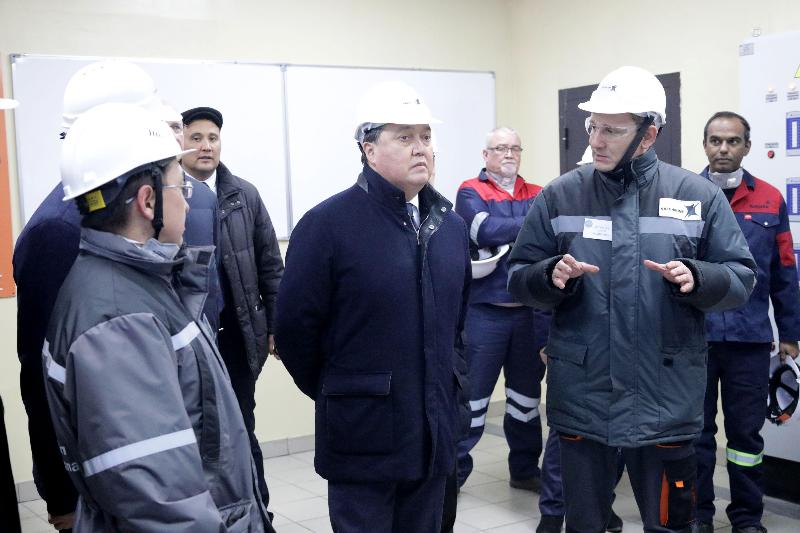Более экологичной стала обновлённая печь на Аксуском заводе ферросплавов