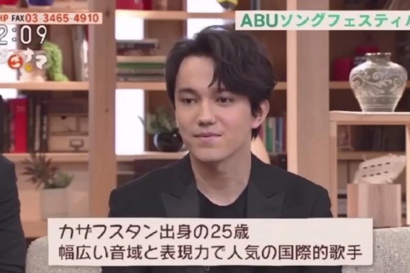 迪玛希接受日本NHK电视台采访