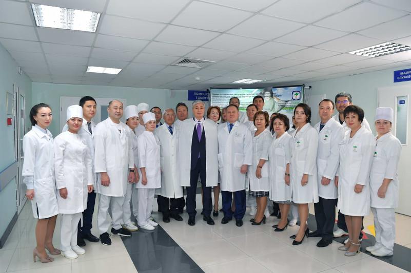 Касым-Жомарт Токаев поручил реконструировать столичный НИИ травматологии и ортопедии