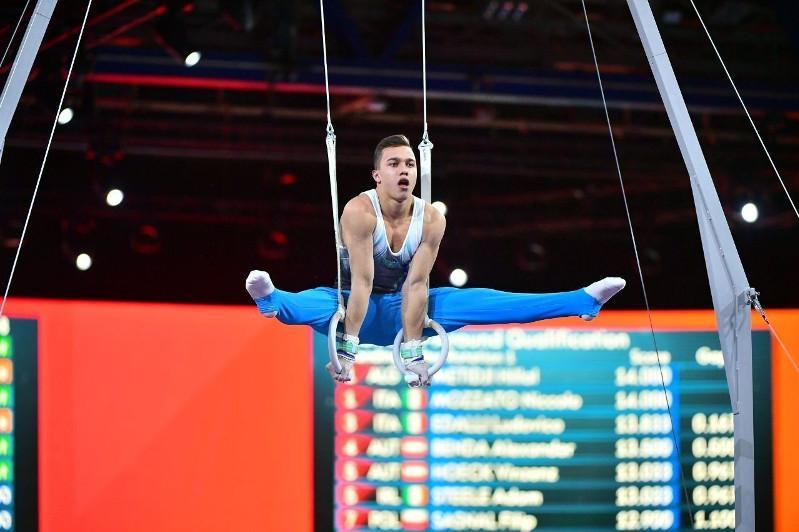 Казахстанский гимнаст Милад Карими одержал победу в Бундеслиге