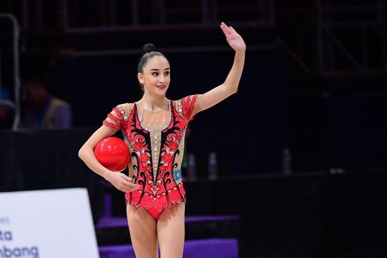 Алина Адилханова выиграла чемпионат Казахстана по художественной гимнастике
