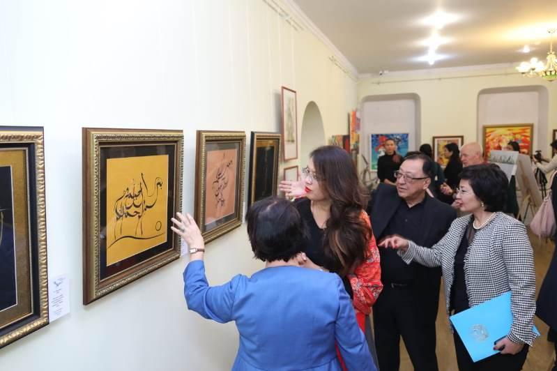 Впервые в Музее искусств ВКО открылась выставка «Творчество молодых»