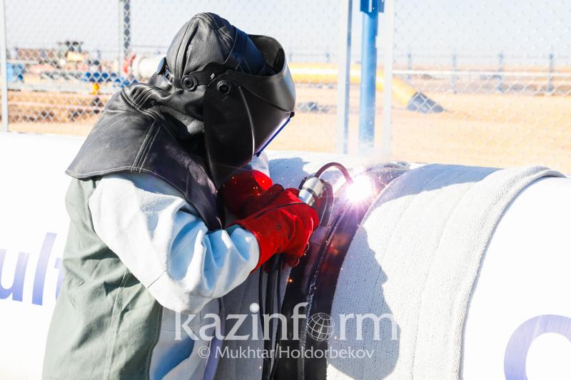 «Сарыарқа» газ құбырын төсеу жұмыстары 100 пайыз аяқталды