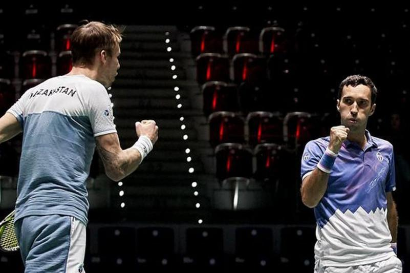 Davis Cup: Kazakh athletes defeat rivals from the Netherlands