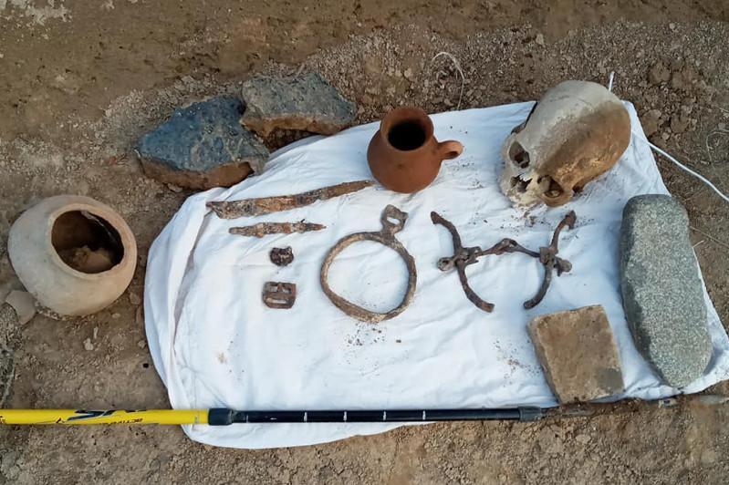 Өзбекстанда Көне түрік қағандығы дәуірінен қалған жерлеу орны табылды