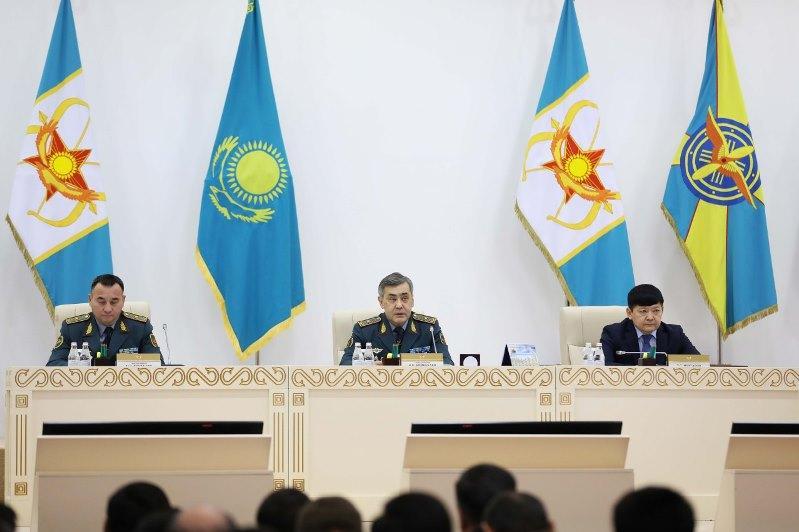 Качество военного образования обсудили на расширенной коллегии Министерства обороны РК