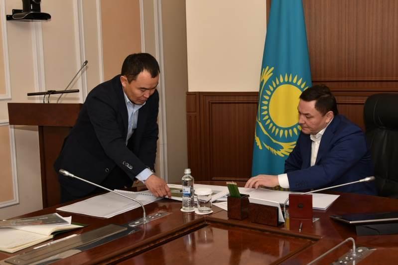 Аким Акмолинской области обсудил с инвесторами строительство спортивной инфраструктуры