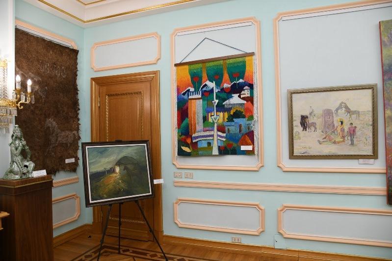 В Библиотеке Елбасы открылась выставка «Молодость Великой степи»