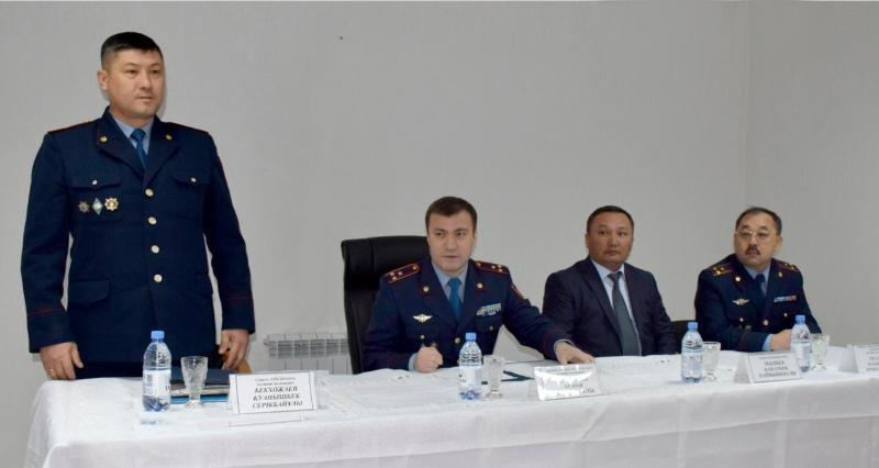 Безопасность и законные интересы граждан в приоритете работы полиции - Арман Оразалиев