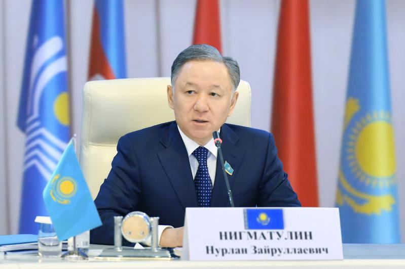 Нурлан Нигматулин примет участие в юбилейной Межпарламентской Ассамблее СНГ в Санкт-Петербурге
