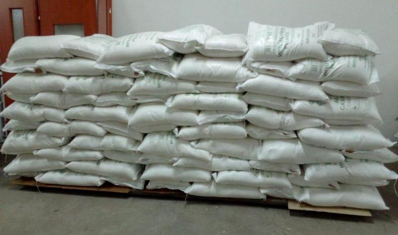 В Павлодарскую область доставили 11 тонн сахара из местной свеклы