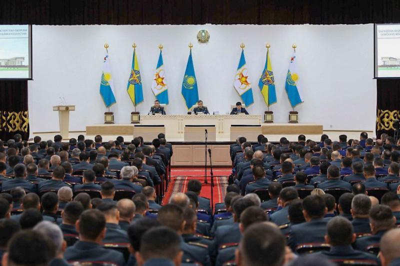 Расширенное заседание коллегии прошло в Министерстве обороны РК