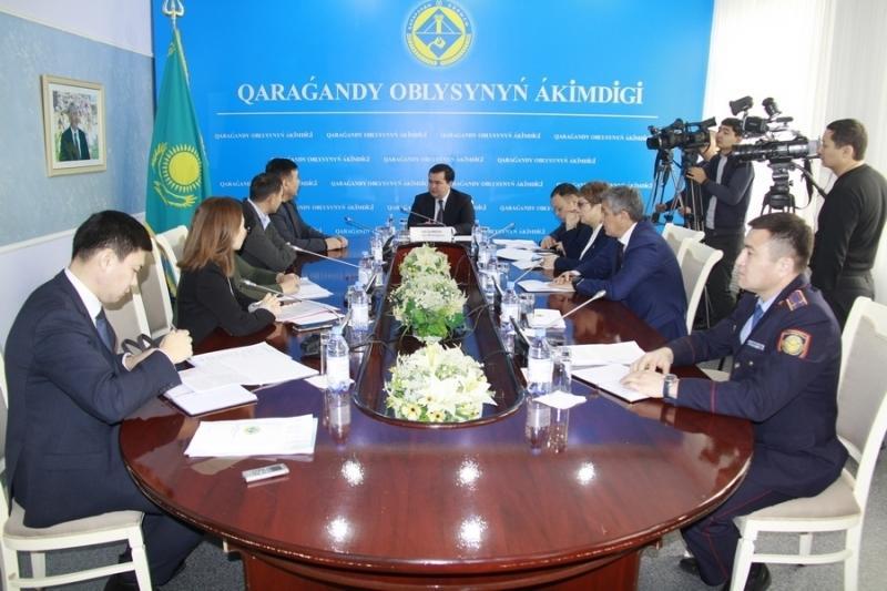 Более 100 вопросов от жителей Карагандинской области поступило Женису Касымбеку