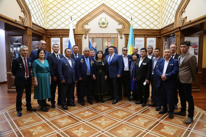Мәскеуде қазақстандық Ауған соғысы ардагерлері марапатталды