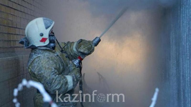 54-летняя женщина сгорела в собственном доме в СКО