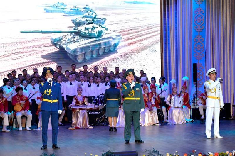 Фестиваль творческих коллективов прошёл в Вооружённых силах РК