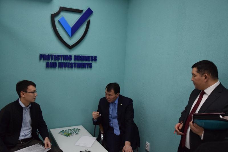Алик Шпекбаев принял участие в Едином дне приёма граждан