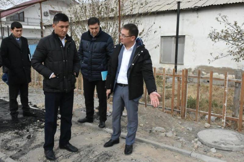 Түркістандағы салынып жатқан жолдардың сапасы үнемі бақылауда болады – әкім